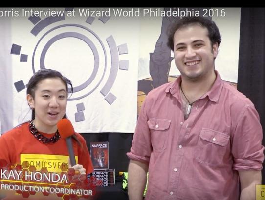 James Morris Interview at Wizard World Philadelphia 2016