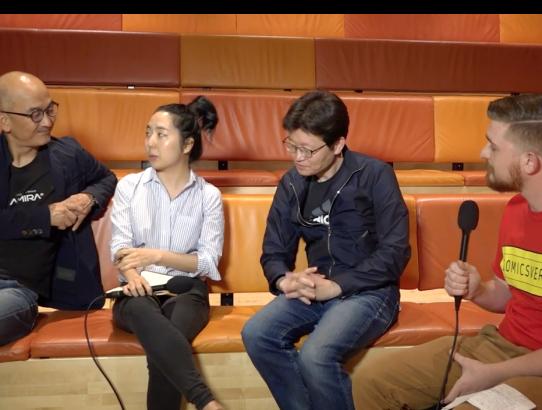 Lee Joon-ik & Shin Yeon-shick (Dongju) Interview at the New York Asian Film Festival
