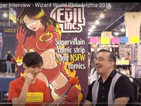 Brad Guigar Interview - Wizard World Philadelphia 2016