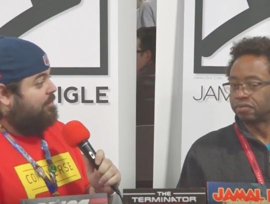 Jamal Igle Interview at NYCC 2016