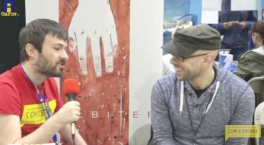 Mike Henderson Interview at Rhode Island Comic Con RICC 2016