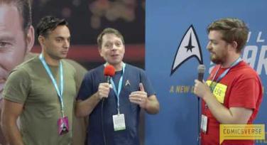 Smithsonian Dr Sonny Kohli and Robert Kaul Star Trek Mission New York 2016