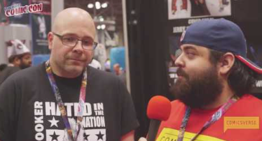 Mike Kingston Interview at NYCC 2016