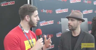 Matt Ryan of JUSTICE LEAGUE DARK Interview at NYCC 2016