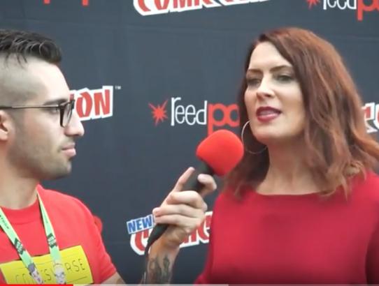 Vanessa Marshall Interview Talks DC Comics Movie News at New York Comic Con 2017