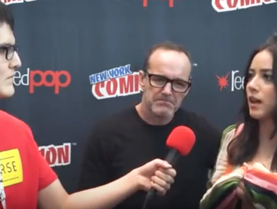 MARVELS AGENTS OF SHIELD New York Comic Con 2017 Cast Interview