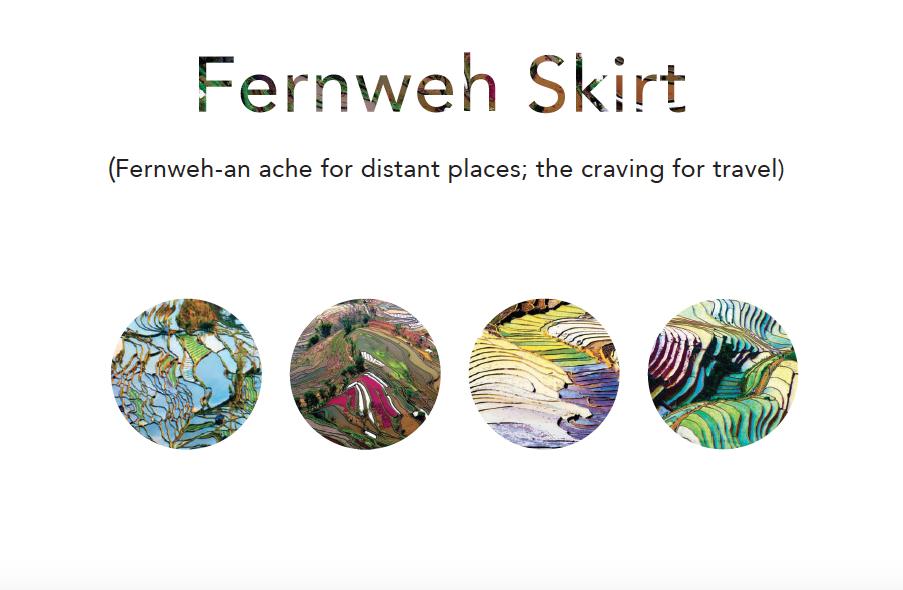 Fernweh Skirt