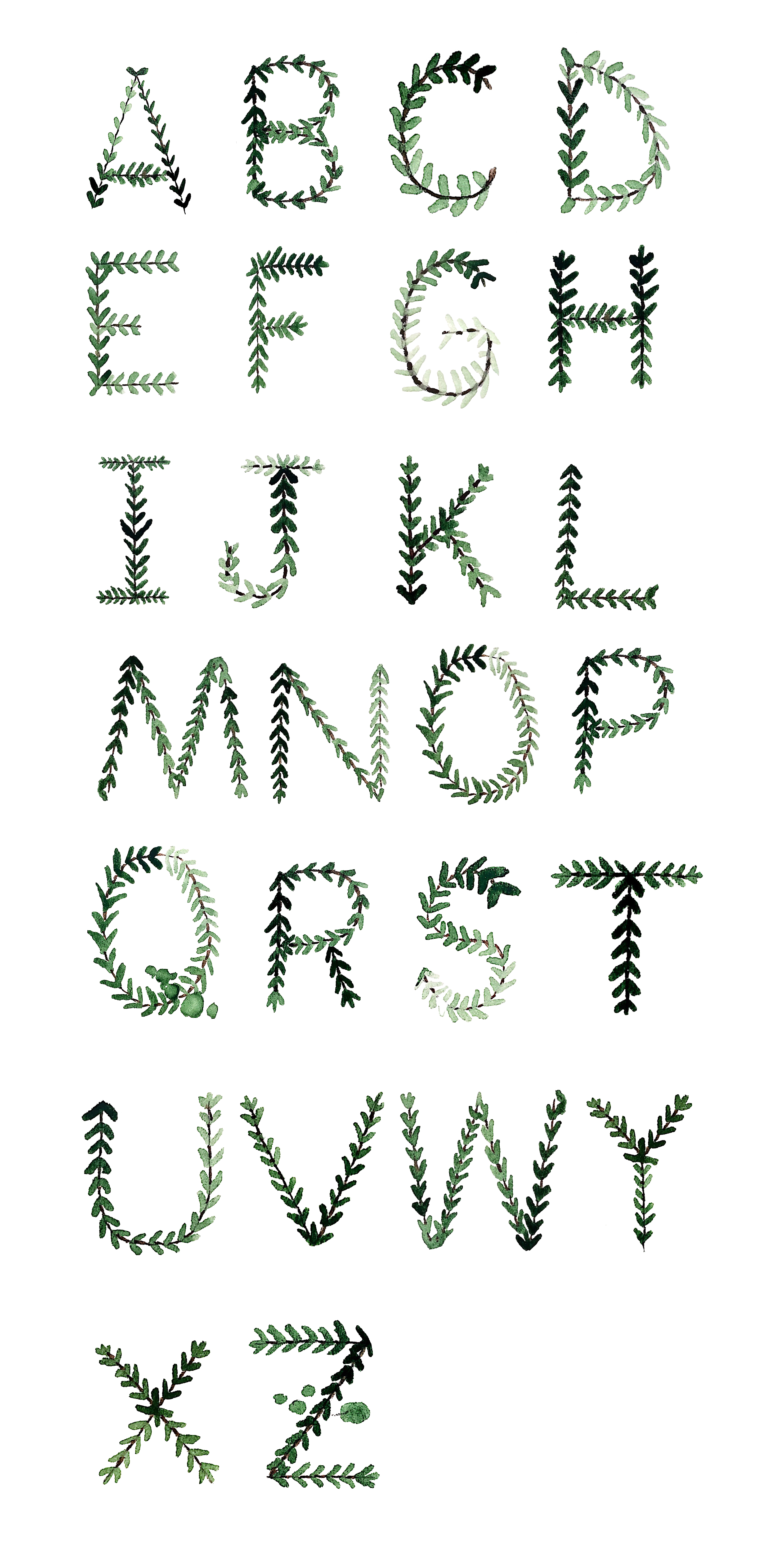 Language & Letterforms: Object Alphabet