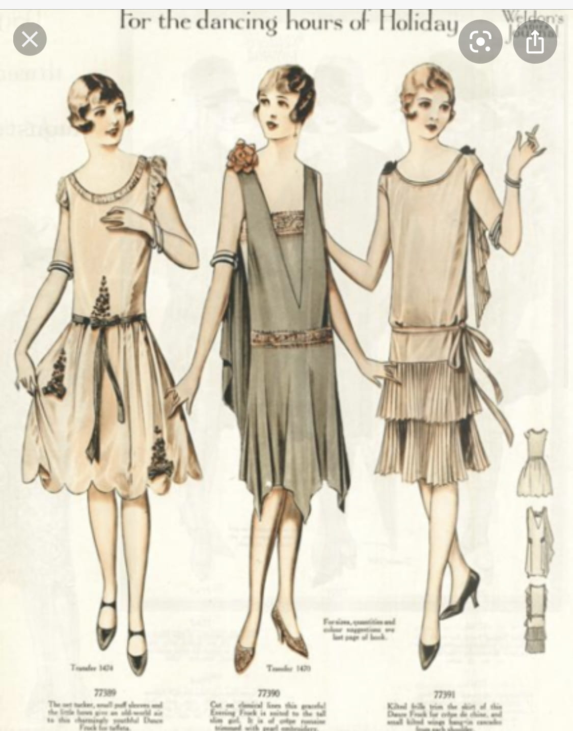 Fashion After 1900 – Image research #2