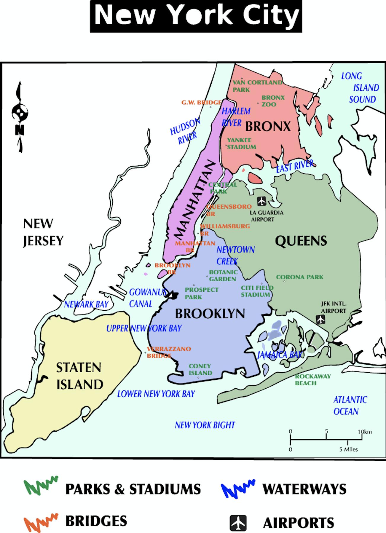 Map Of New York Waterways.Maps Sonalika Grover