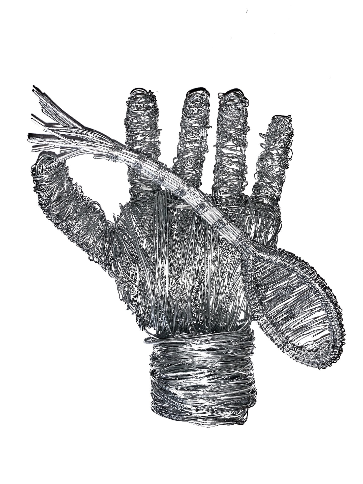 3D Wire Hand