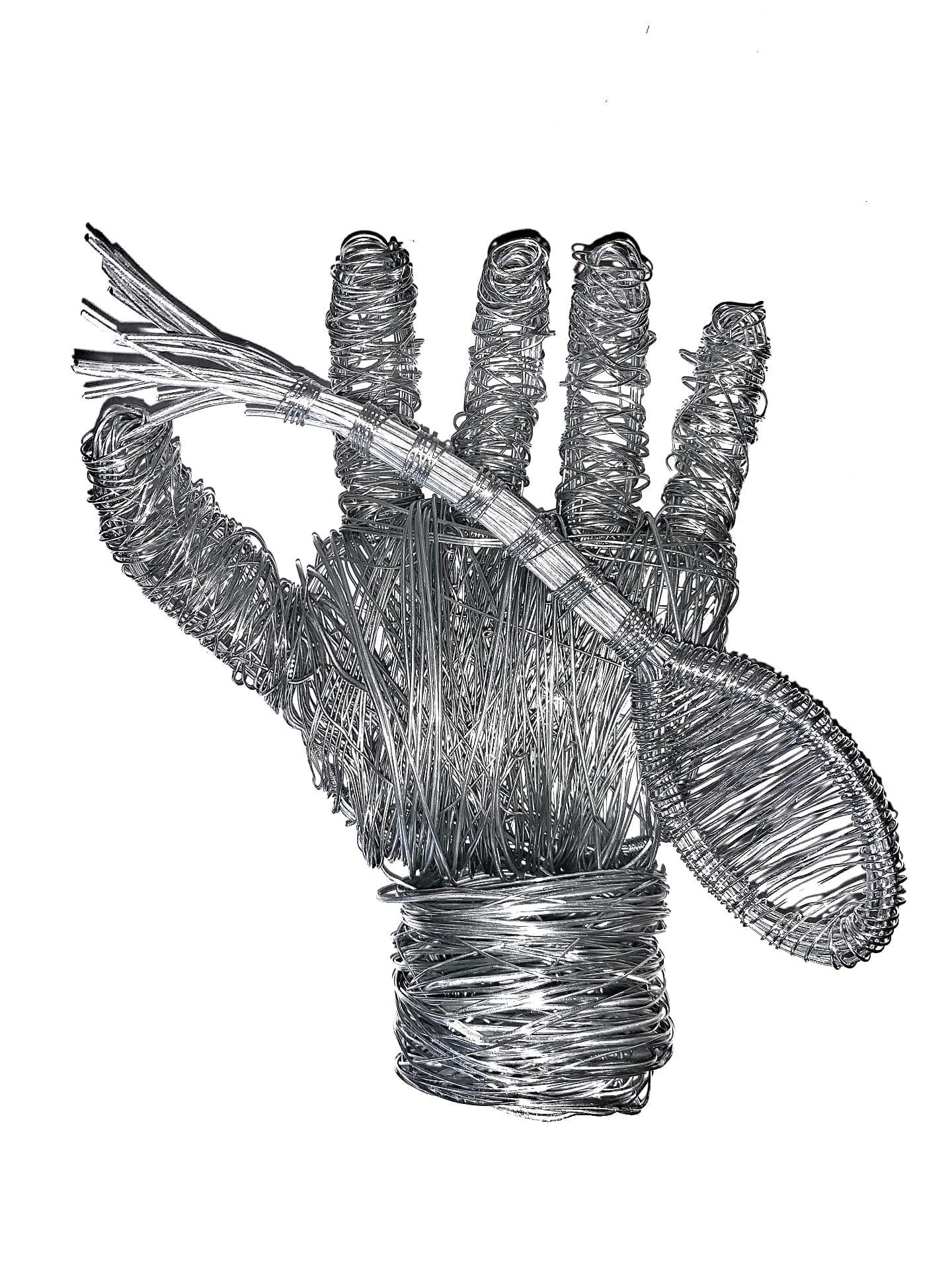 3D Wire Hand