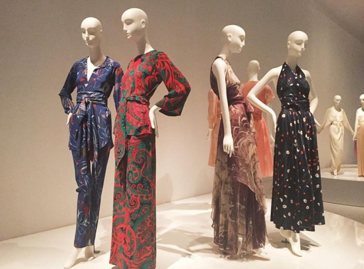 FIT Museum – YSL&Halston
