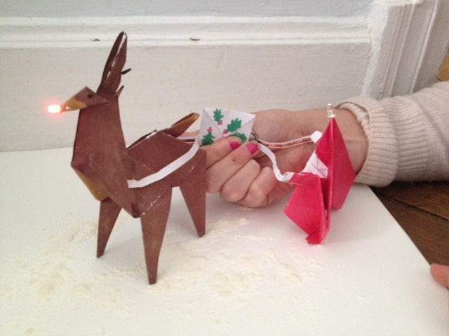 Santa Claus and Rudolf Are Coming to Town (Part 1) – by Danielle Cole & Kelsey Hutton