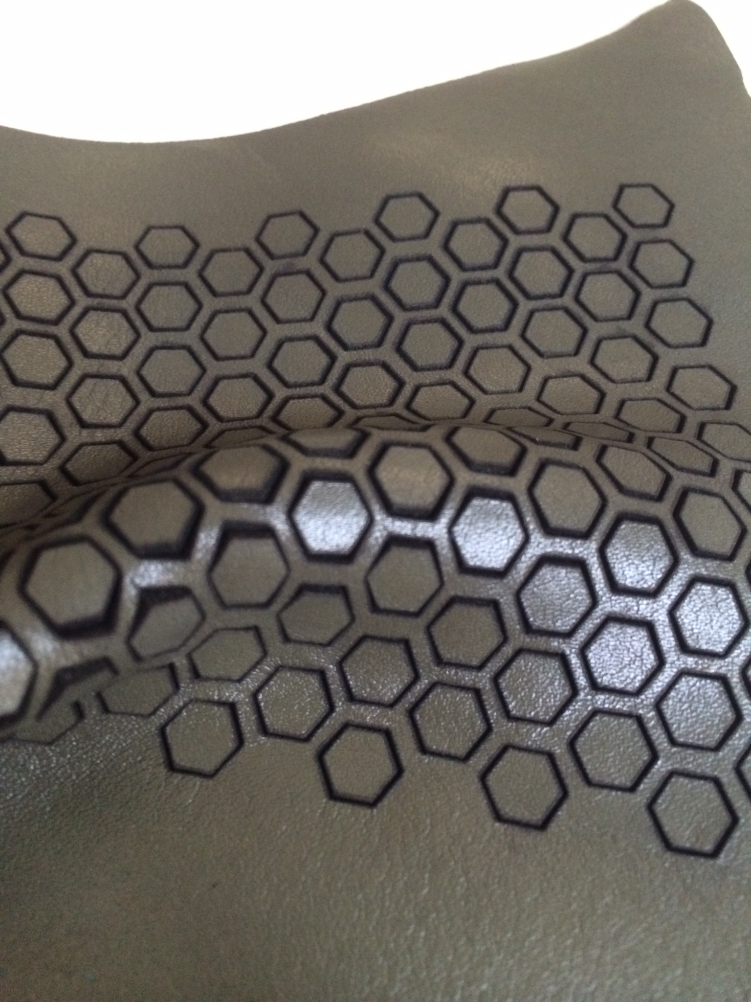 Laser Cut Leather