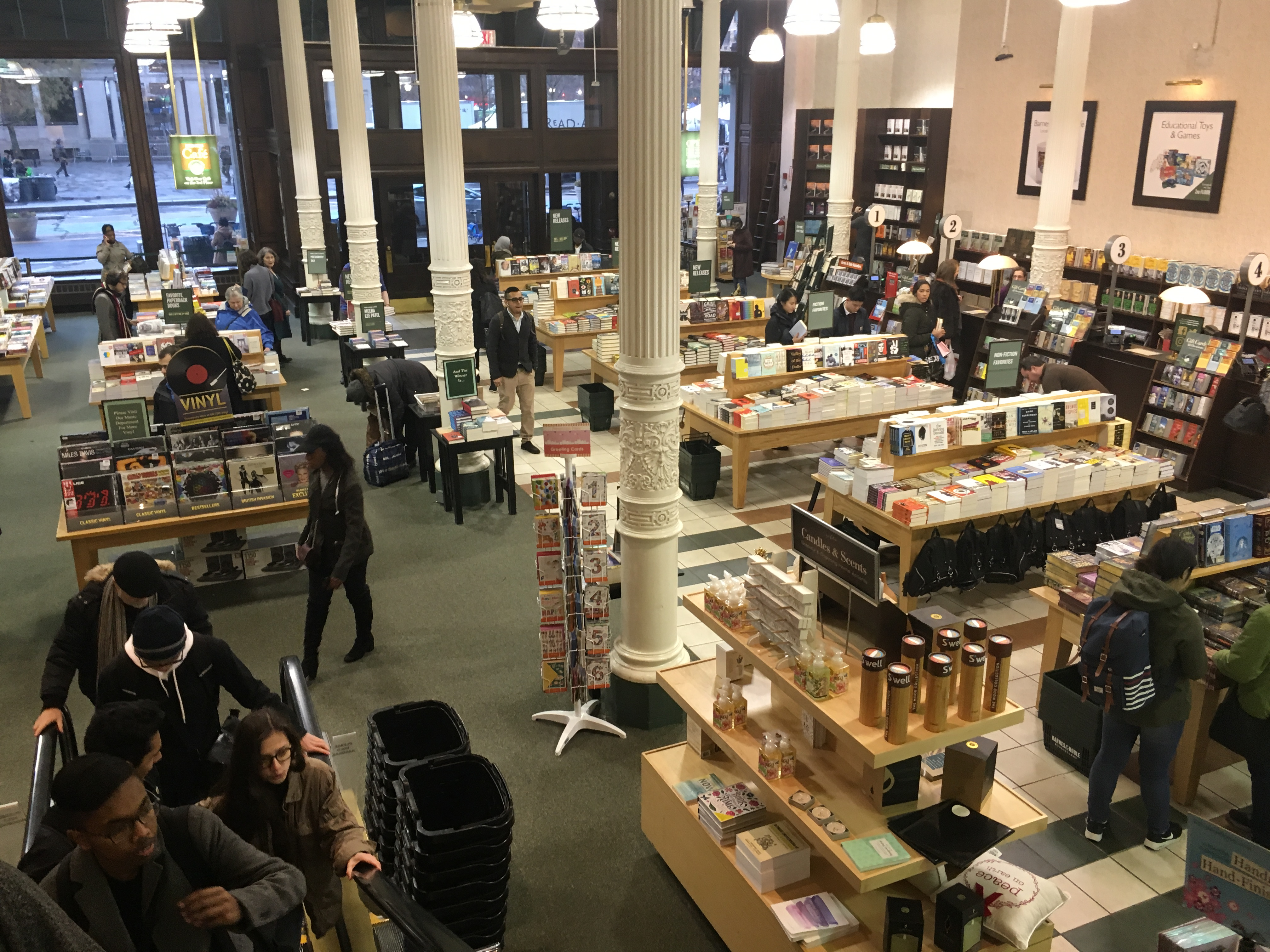 What is Barnes and Nobles?