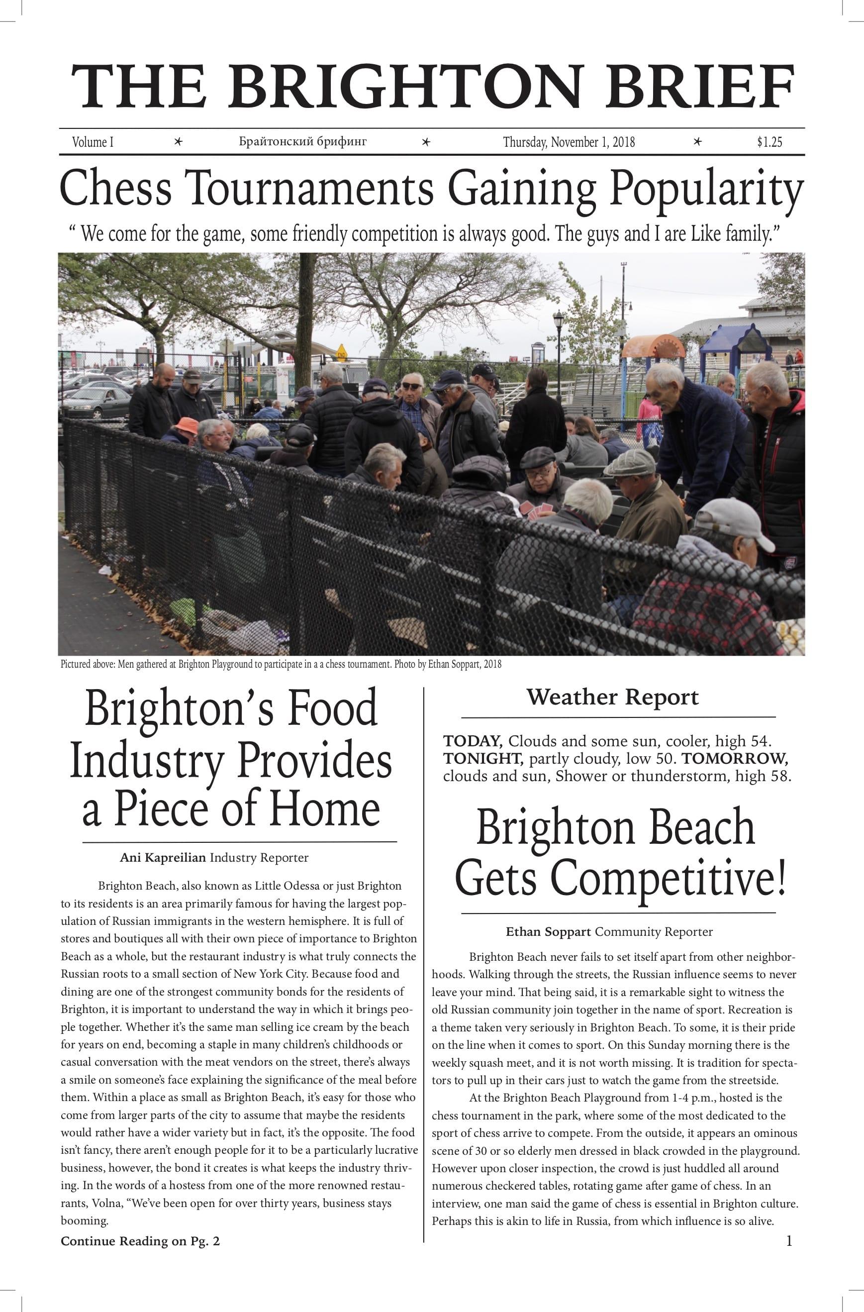 Bridge 3 Newsprint The Brighton Brief