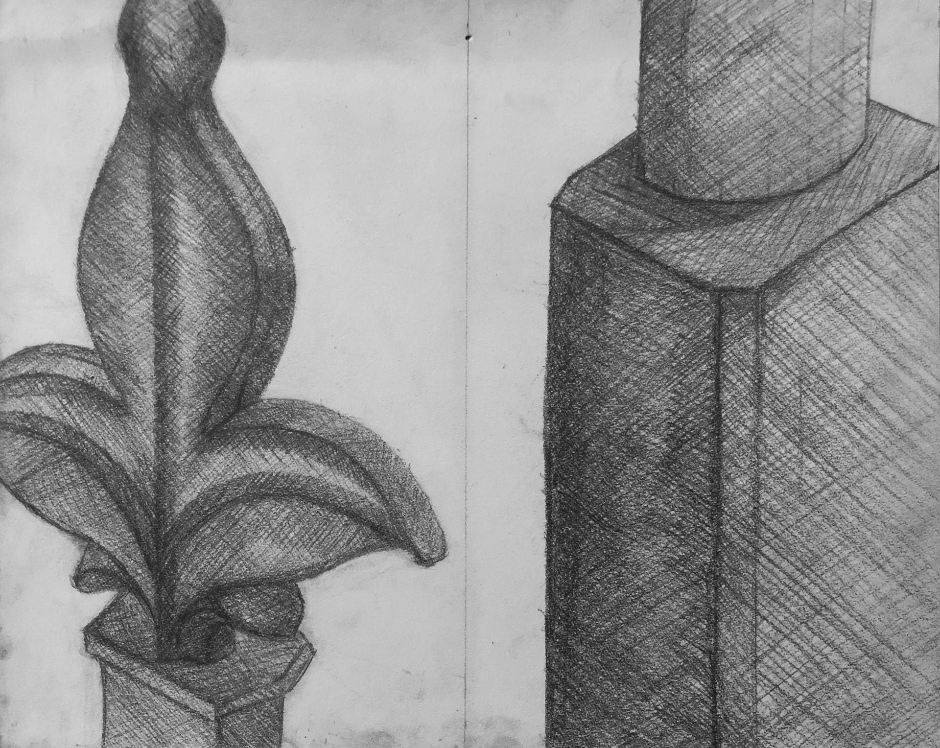 Museum and Personal Object Drawings
