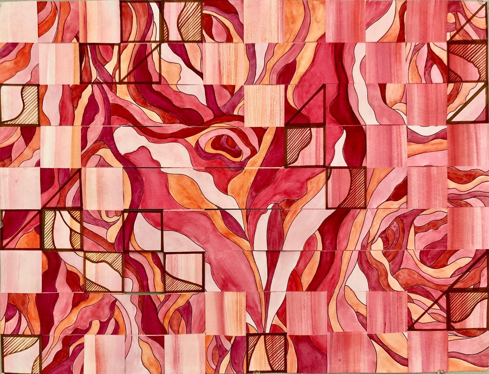 Final Piece – Gestalt Theory + Colour Theory