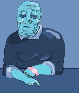 sad n blue unfinished