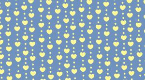 heart-spot pattern