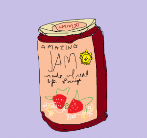 jam is so good