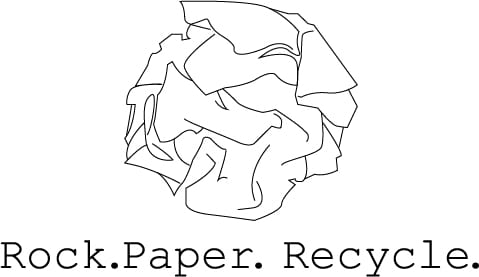 Paper project – Rock paper recycle