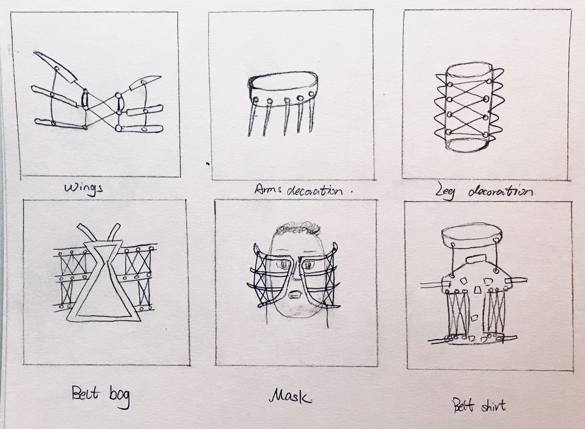 ASSIGNMENT #4 – Thumbnail Sketches