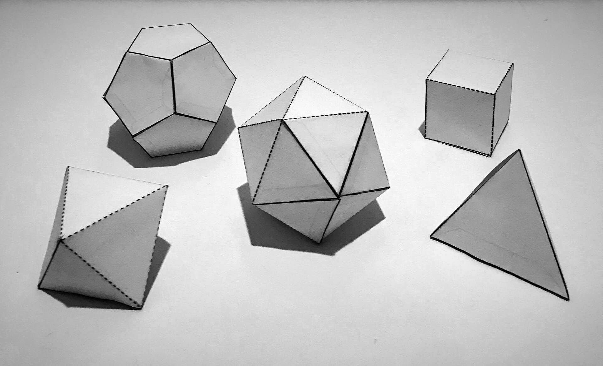 ASSIGNMENT#5 -3D Paper Polyhedrons