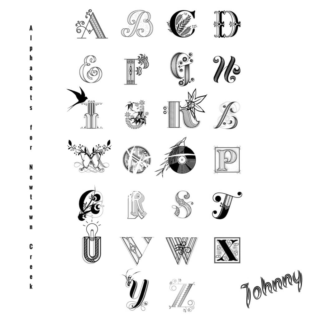An Alphabet for Newtown Creek