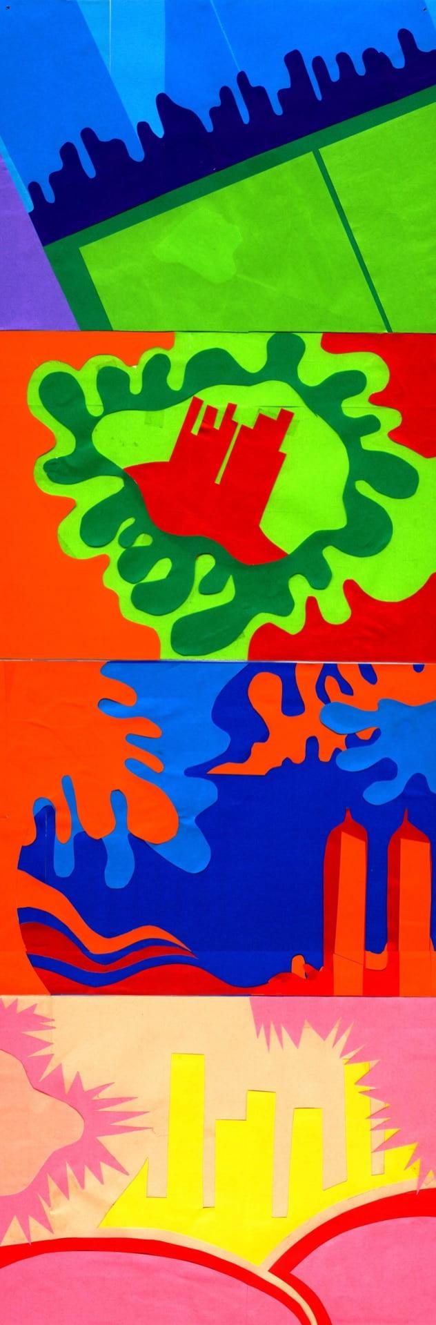 4) Paper Cut Landscapes (Playful & Place)