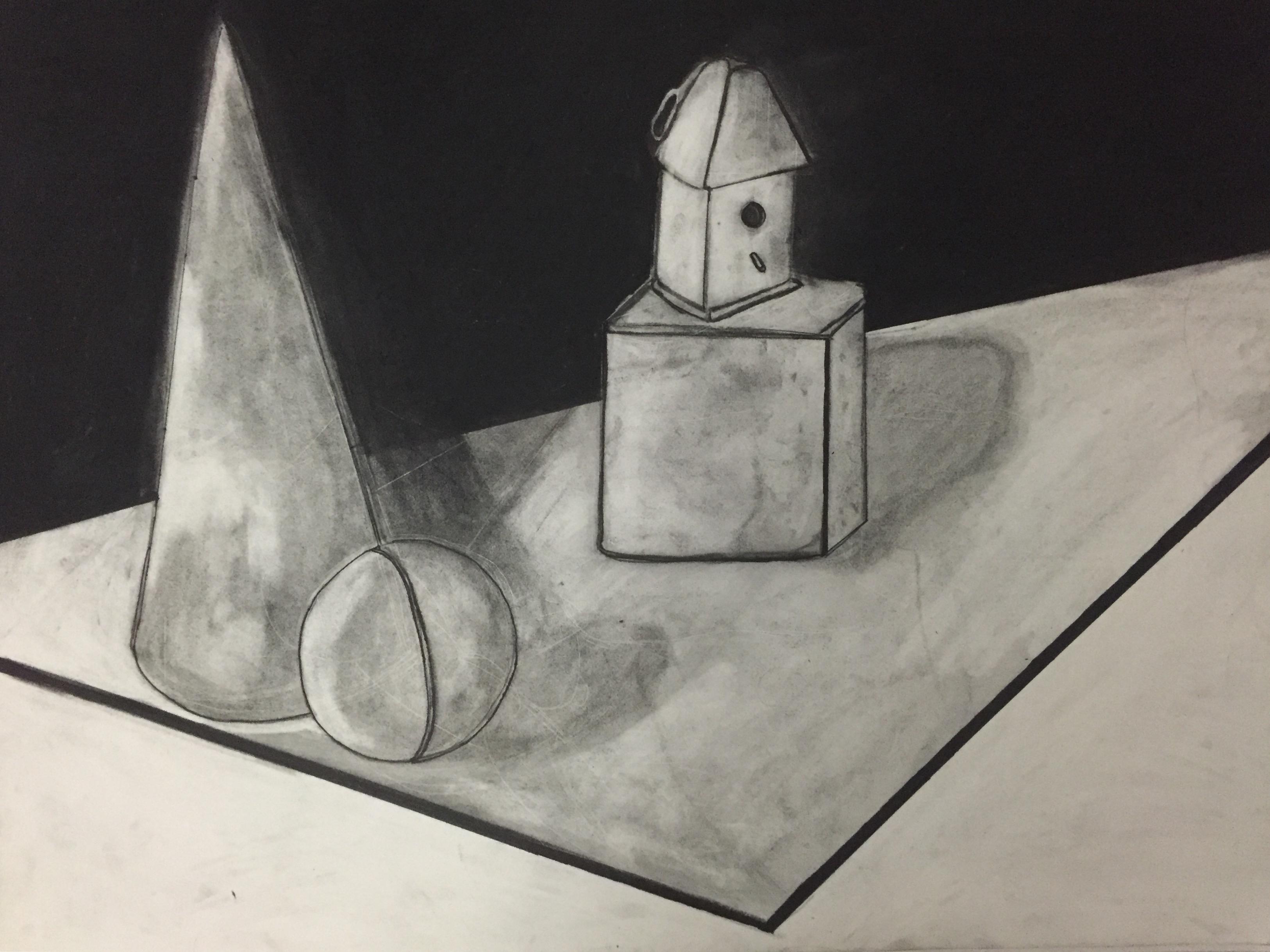 Geometrical Studies in Charcoal: Part II