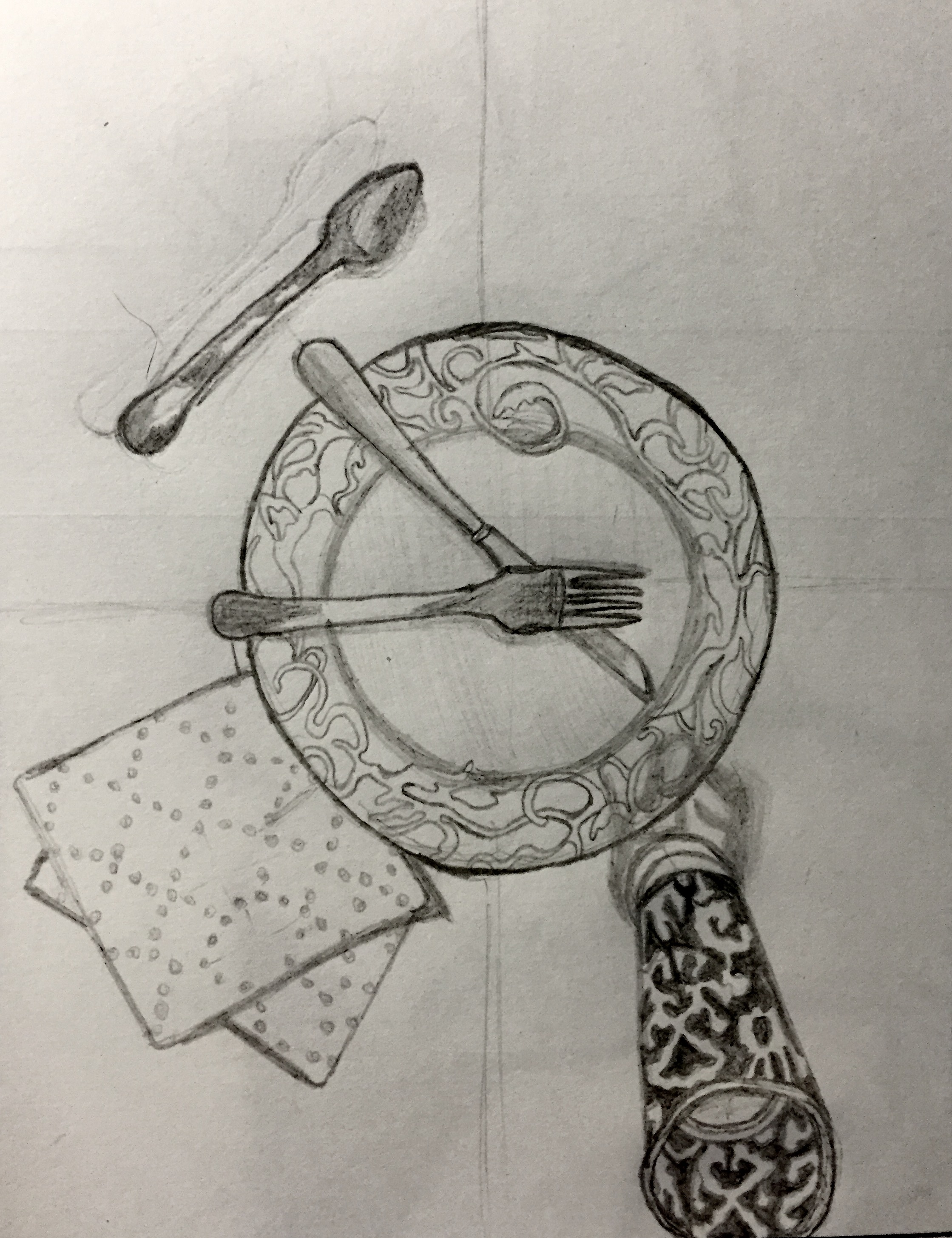 """Sketchbook Assignment: Part I, """"Simple Forms"""""""