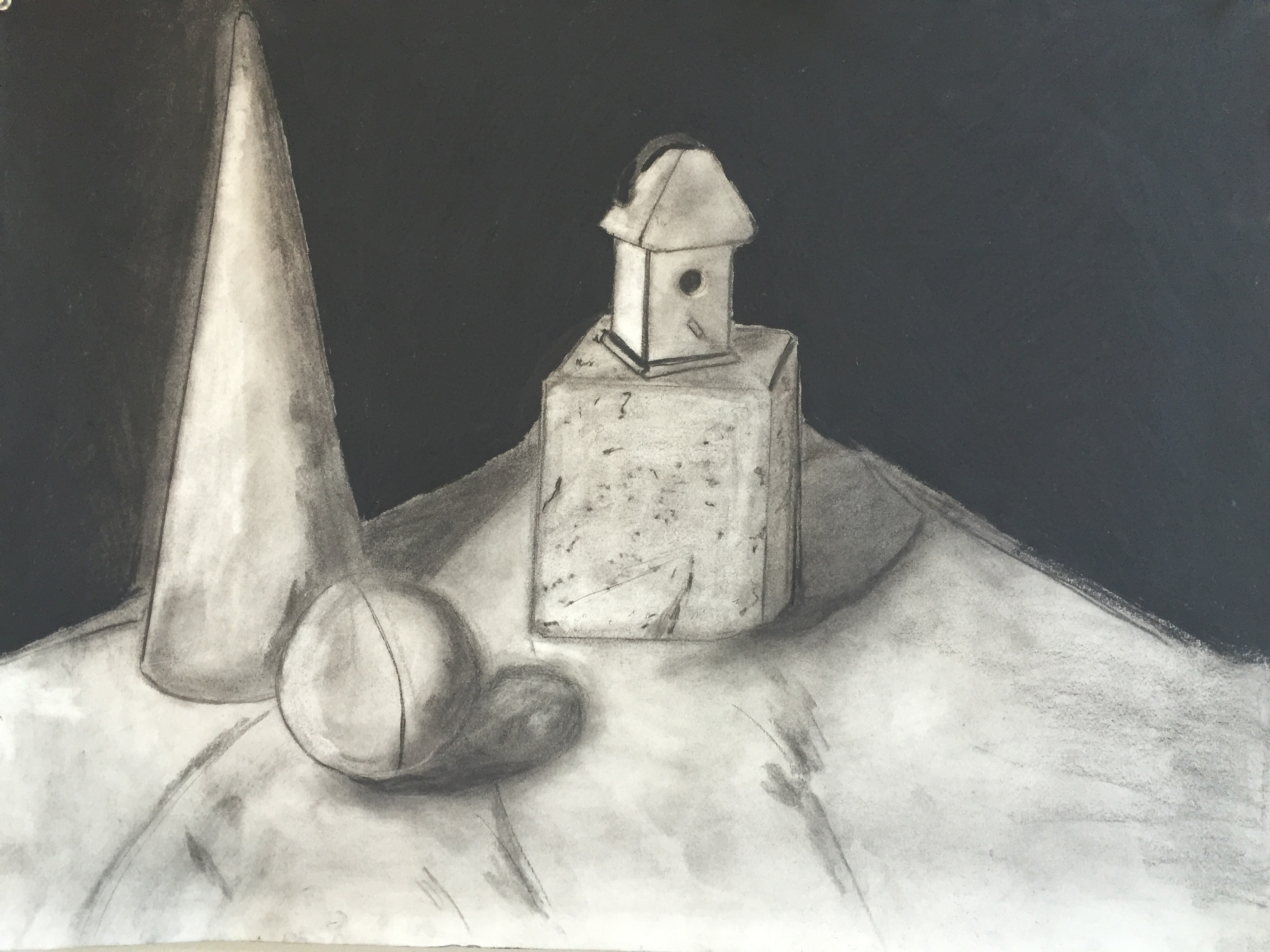 Geometrical Studies in Charcoal: Part I