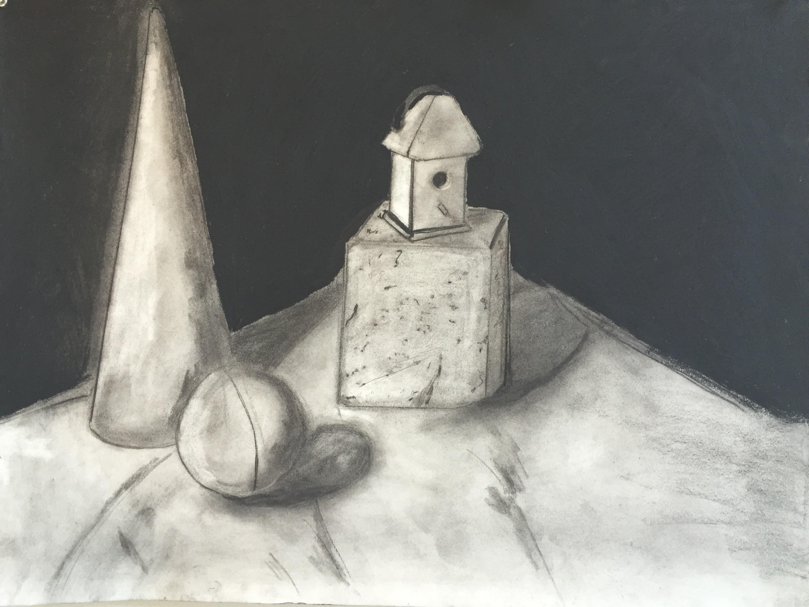Geometrical Studies in Charcoal: Part I
