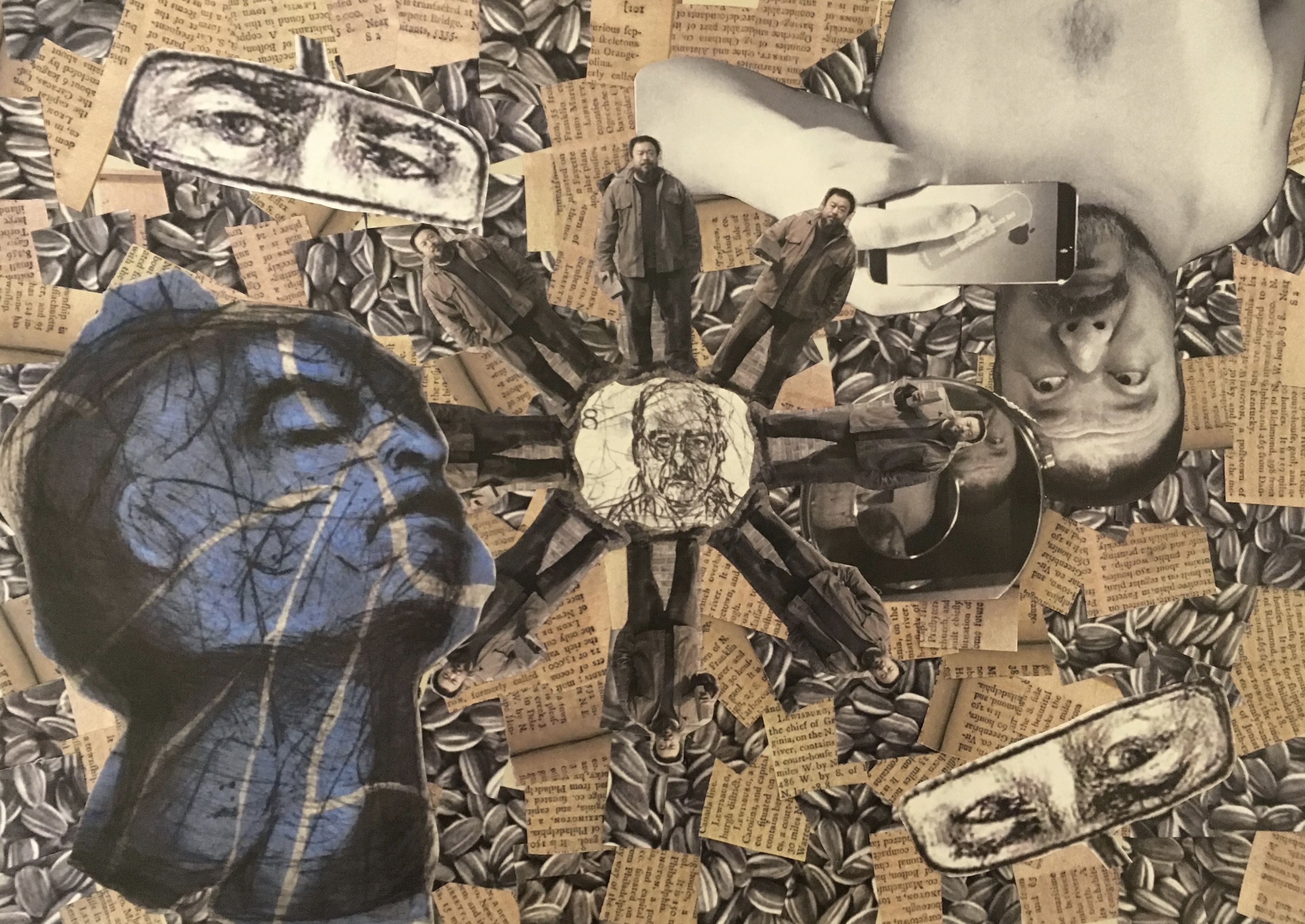 Integrated Studio 2: Artist Collages