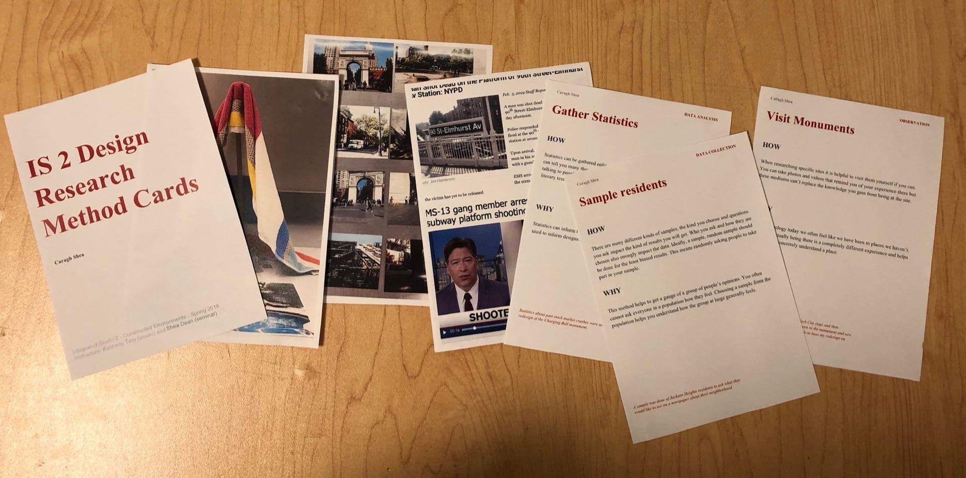 Bridge 1: Research Method Cards