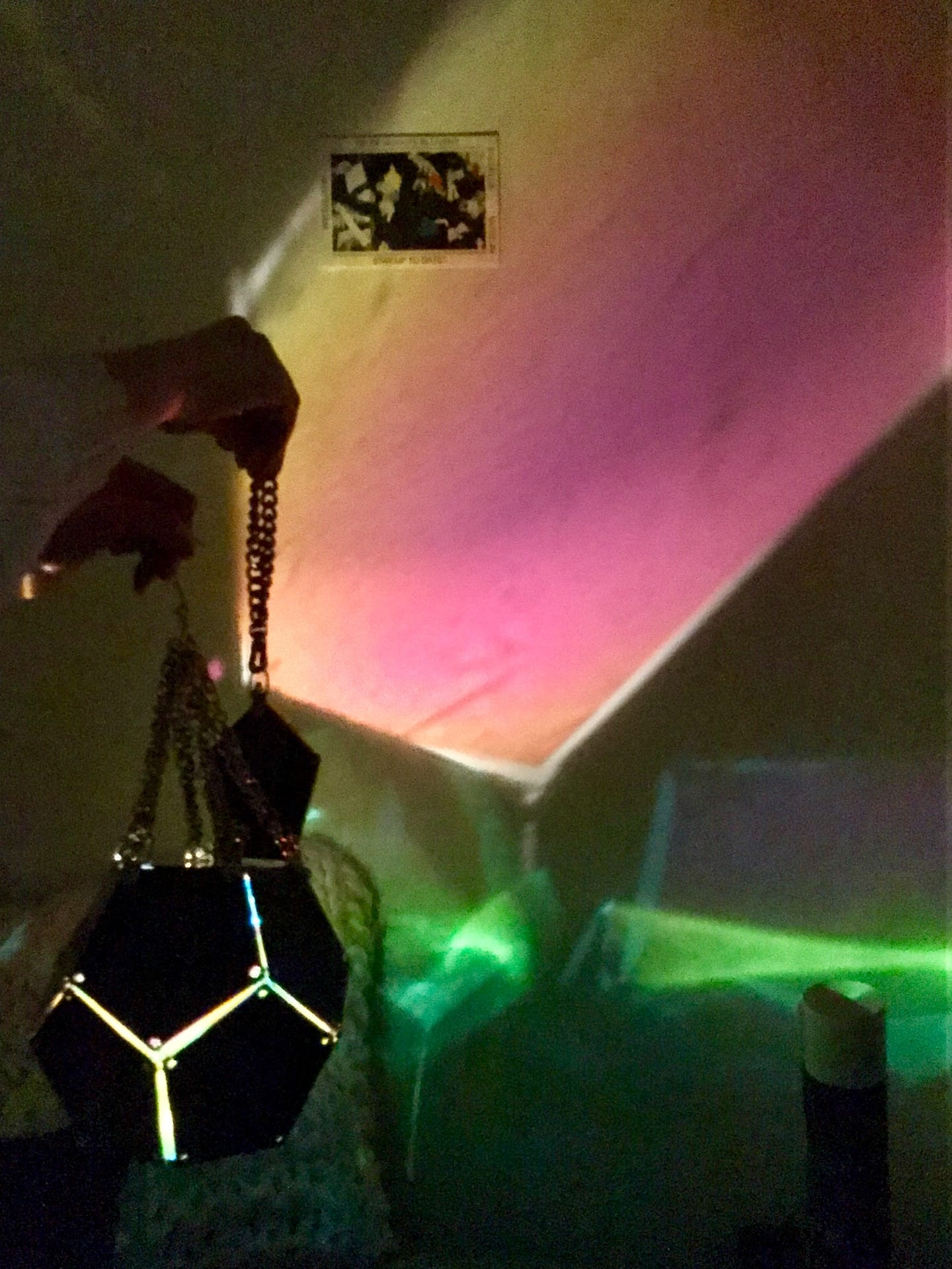 Space/Materiality Light and Shadow: Dangling Dodecahedron