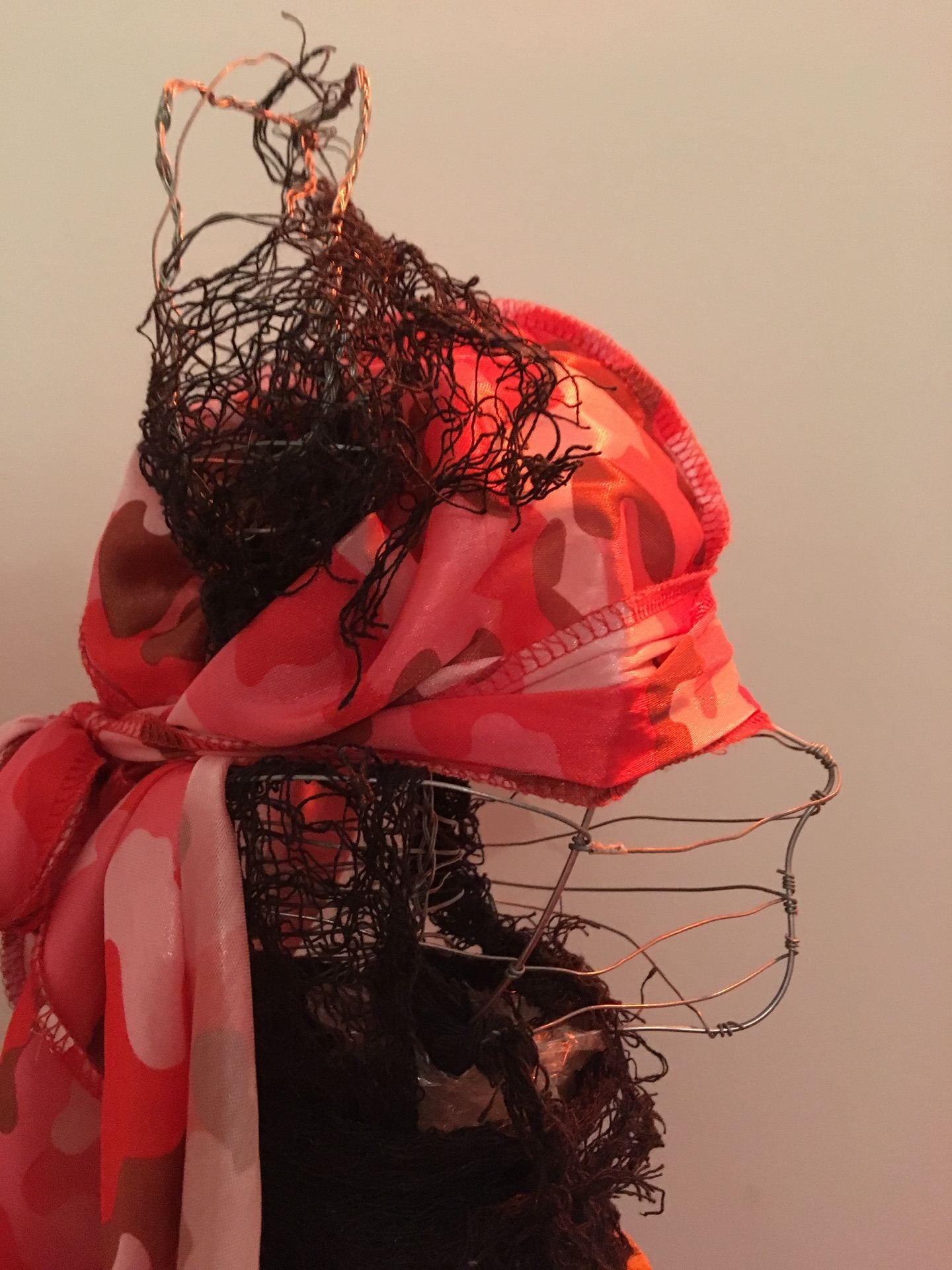 Souvenir of Present: Du rag Holder (wire)