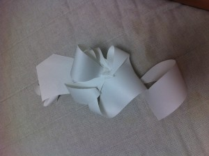Paper Sculpture for CTS