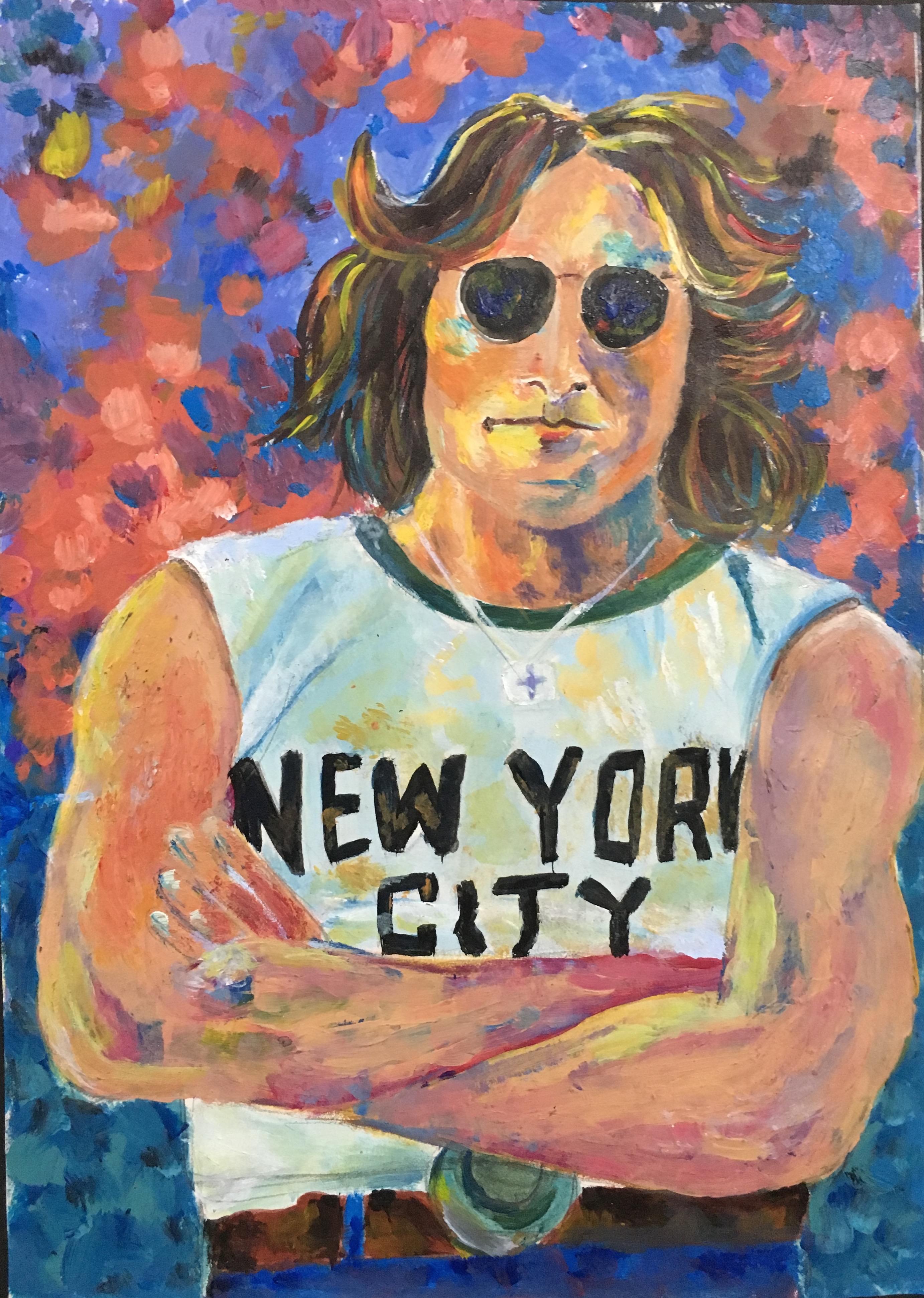 John Lennon- Debra Hurd