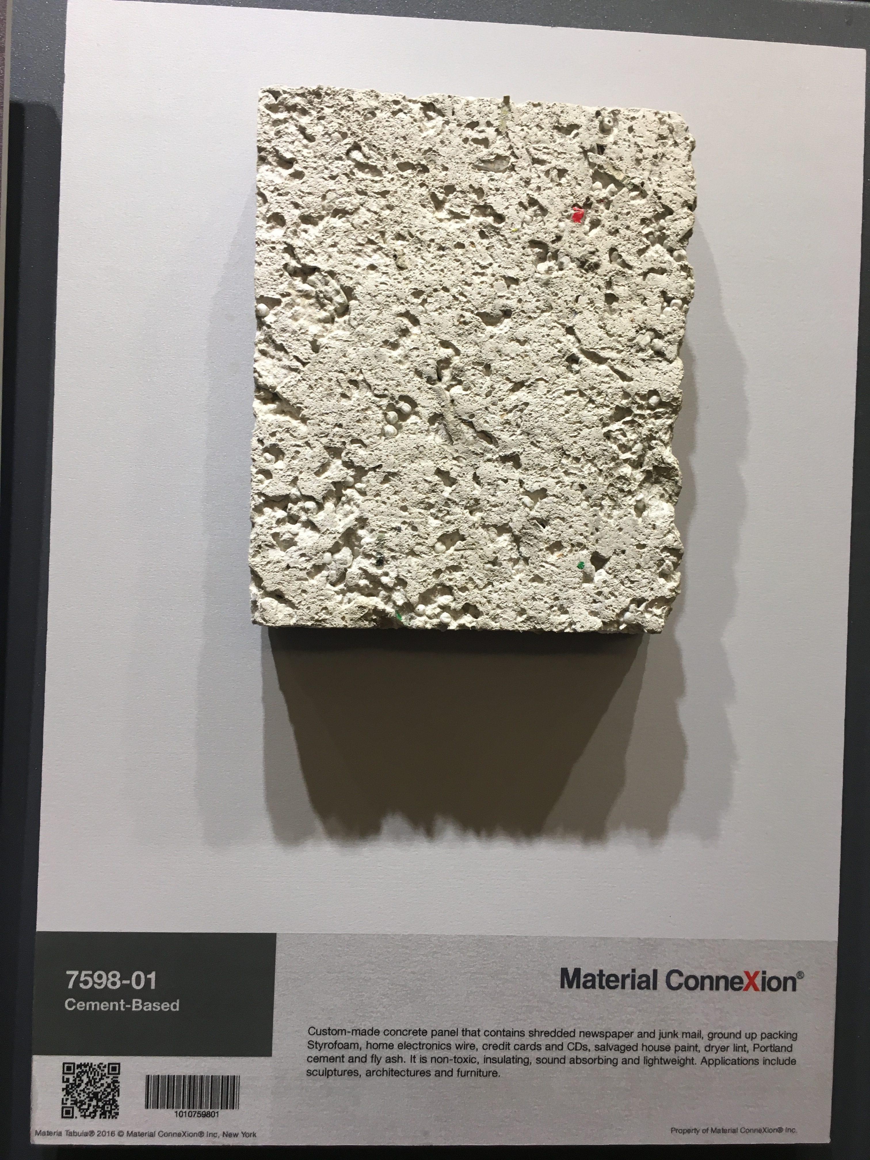 Design Idea 2 -Materials Connexion