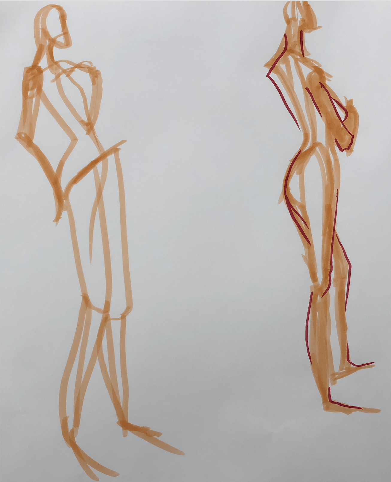 Live Model Sketches