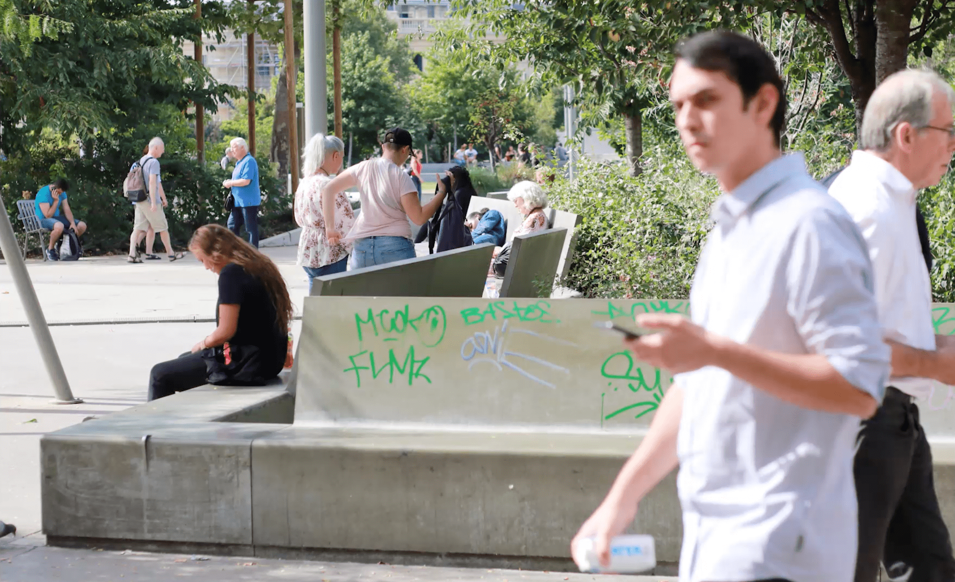 Fashion Photograph: Paris Graffiti Culture