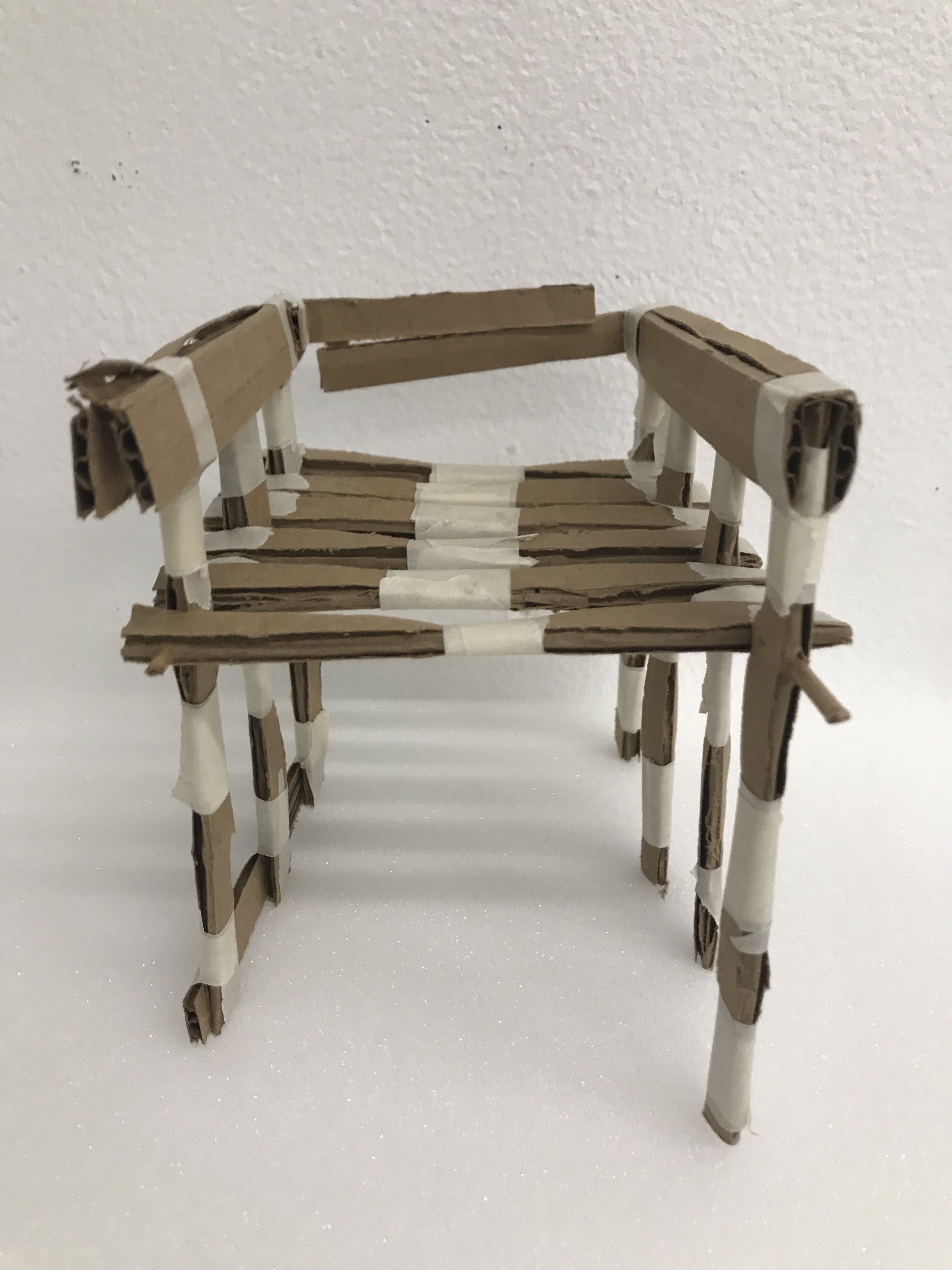 Space & Materiality – Collapsable Chair Project (Process)