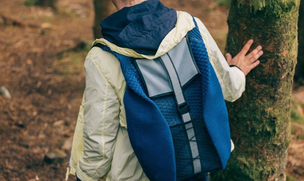 Solar-harvesting backpack
