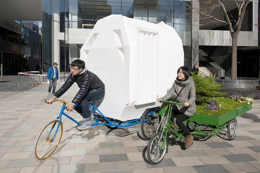 Off-grid Tricycle House
