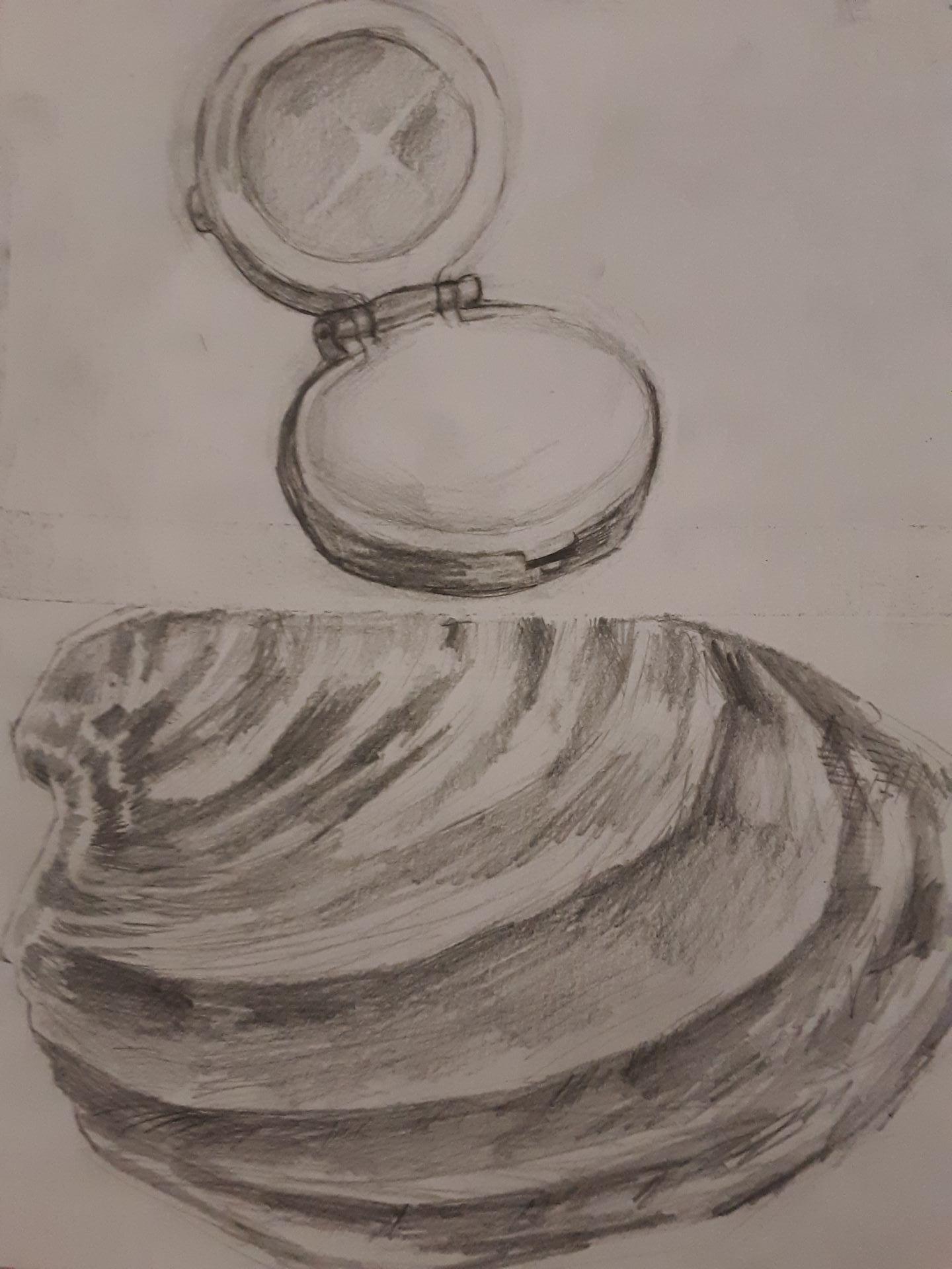 8×10 Object Drawings