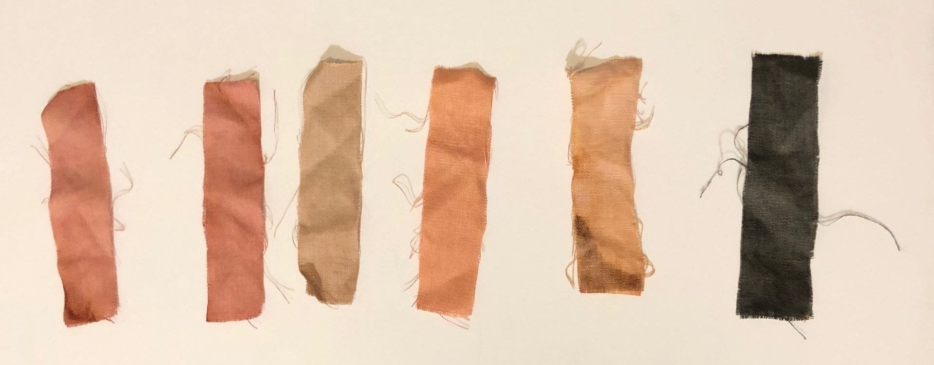 Natural Dye Experiment: Avocado Skins and Pits
