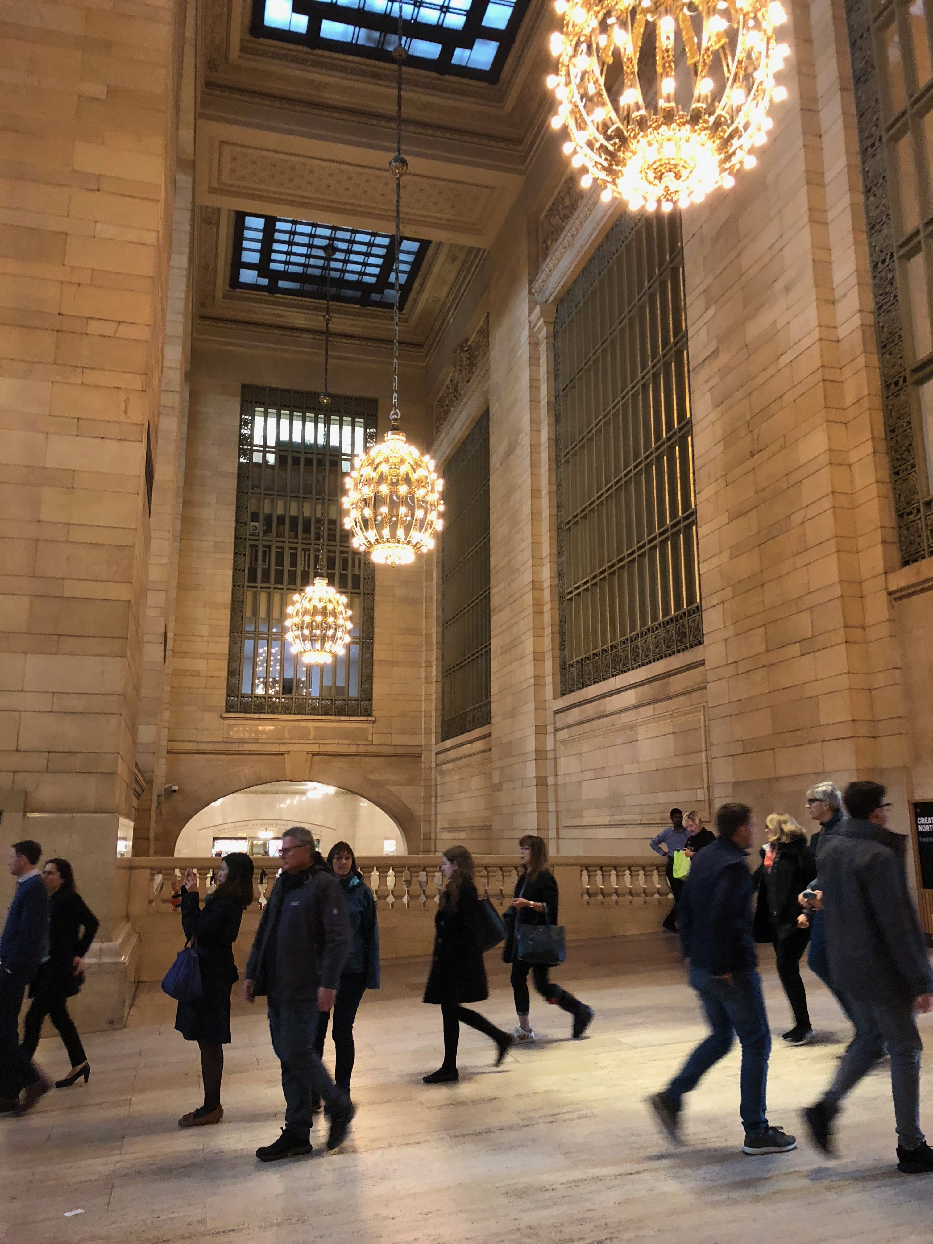 Grand Central Observations